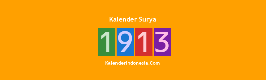 Banner Surya 1913