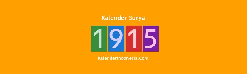 Banner Surya 1915