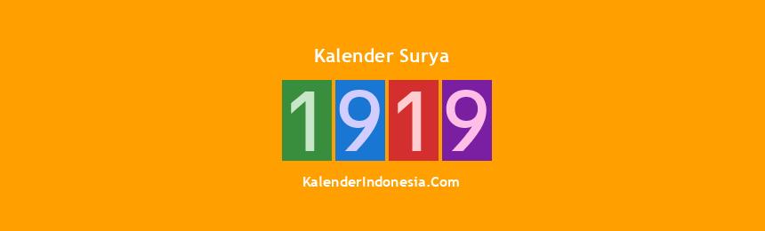 Banner Surya 1919