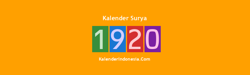 Banner Surya 1920