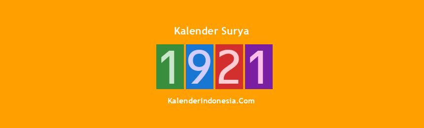 Banner Surya 1921