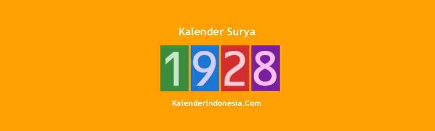 Banner Surya 1928