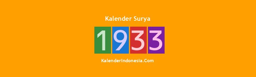 Banner Surya 1933