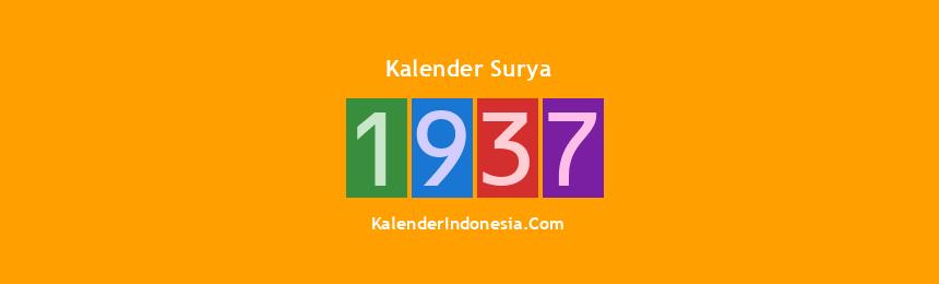 Banner Surya 1937