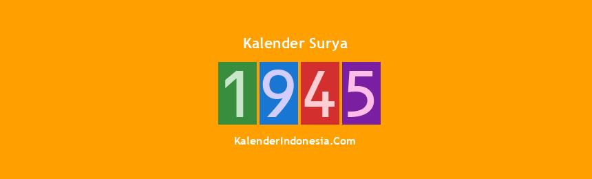 Banner Surya 1945