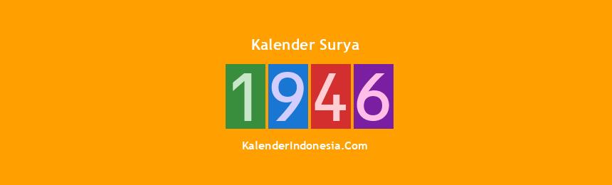 Banner Surya 1946