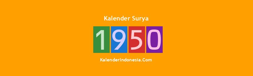 Banner Surya 1950