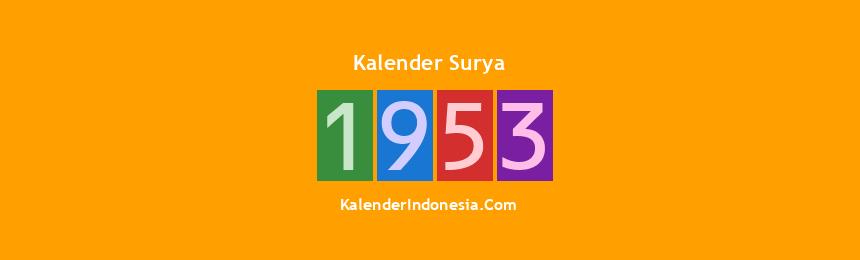 Banner Surya 1953