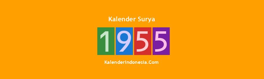 Banner Surya 1955