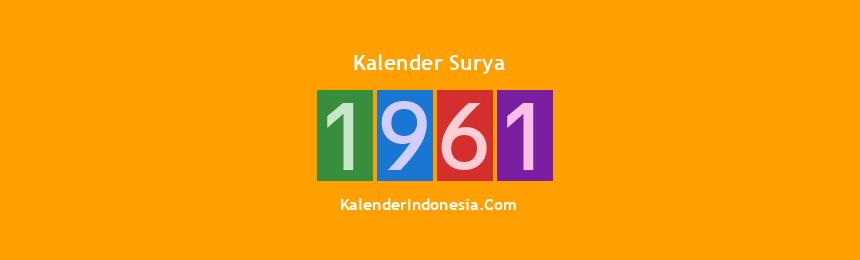 Banner Surya 1961