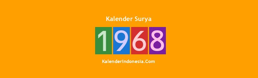 Banner Surya 1968