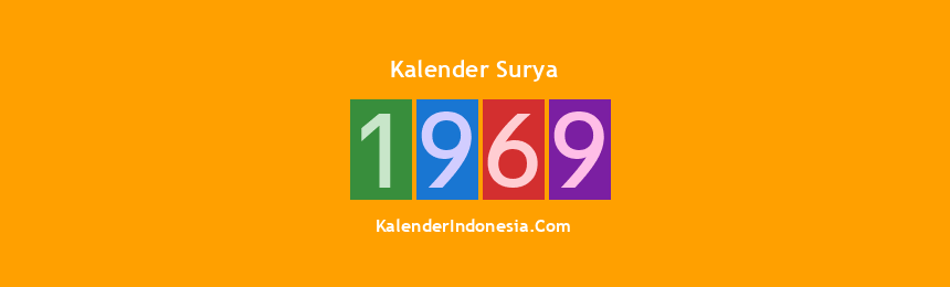 Banner Surya 1969