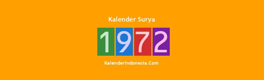 Banner Surya 1972