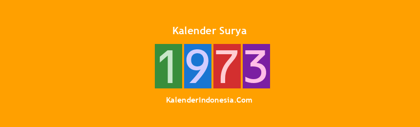 Banner Surya 1973