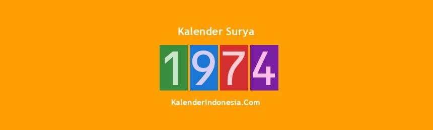 Banner Surya 1974