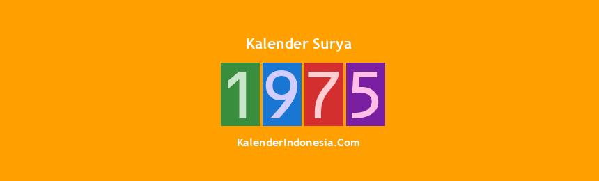 Banner Surya 1975