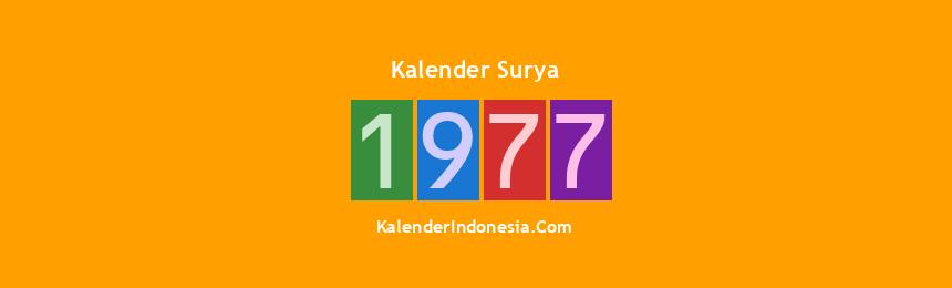 Banner Surya 1977