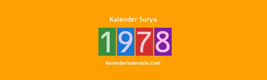 Banner Surya 1978