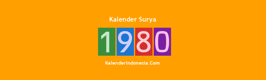 Banner Surya 1980