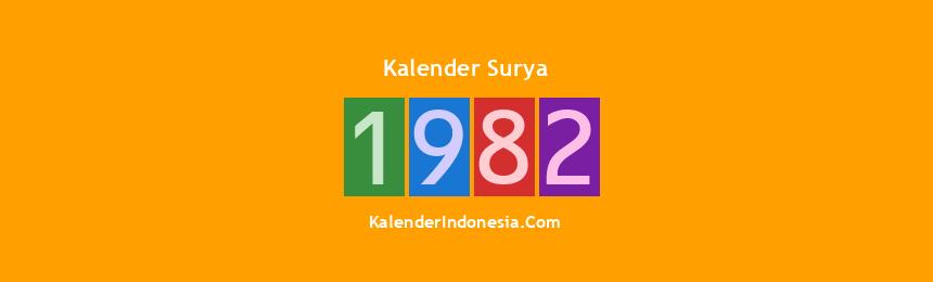 Banner Surya 1982