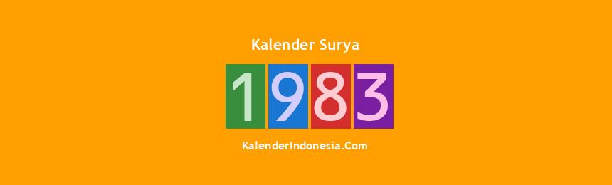Banner Surya 1983