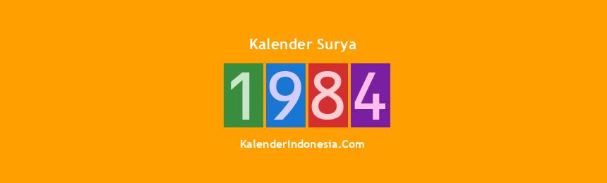Banner Surya 1984