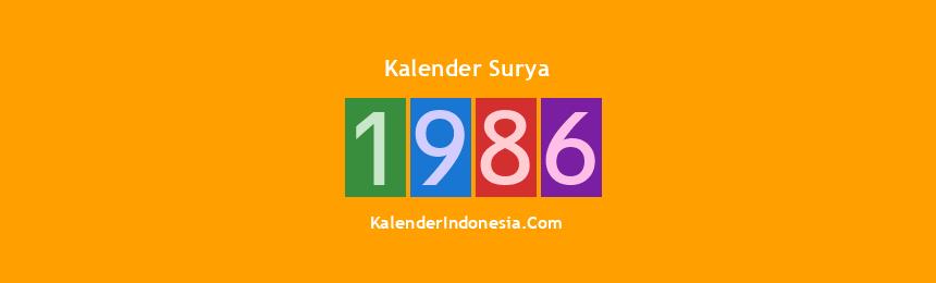 Banner Surya 1986