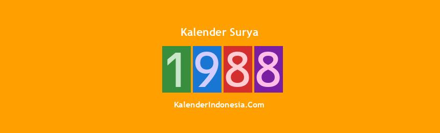 Banner Surya 1988