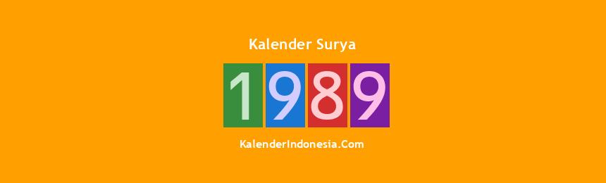 Banner Surya 1989