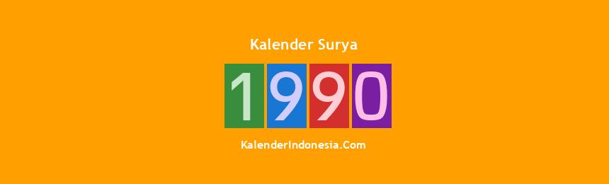 Banner Surya 1990