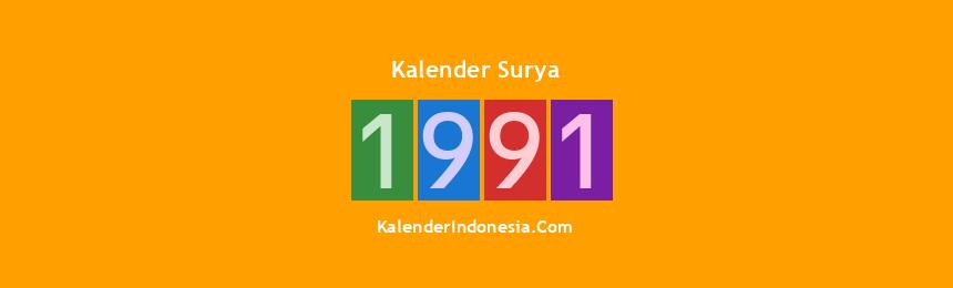 Banner Surya 1991