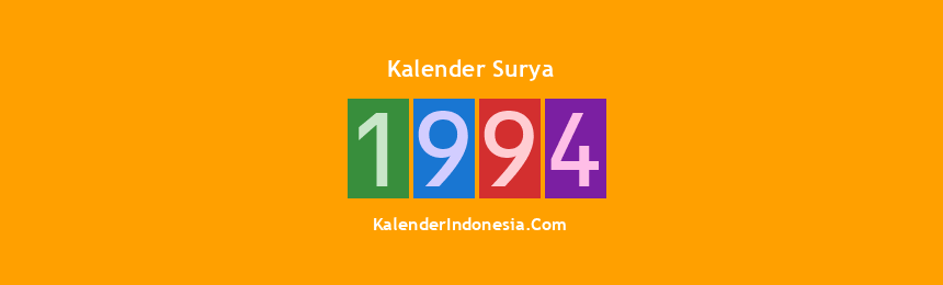 Banner Surya 1994