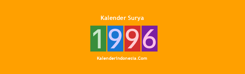 Banner Surya 1996
