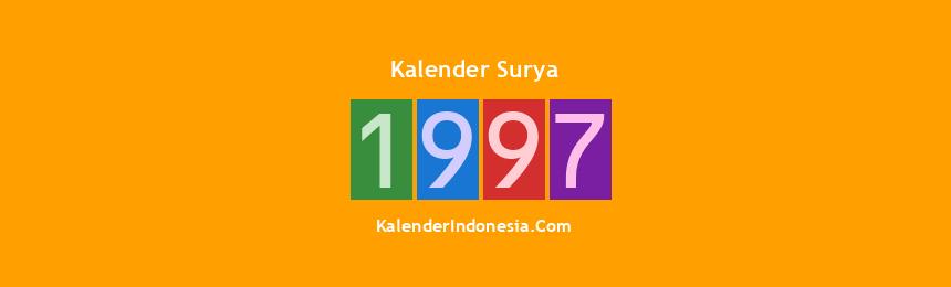 Banner Surya 1997