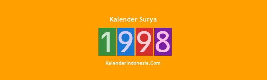 Banner Surya 1998