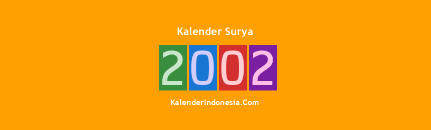 Banner Surya 2002