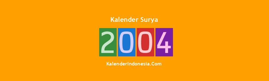Banner Surya 2004