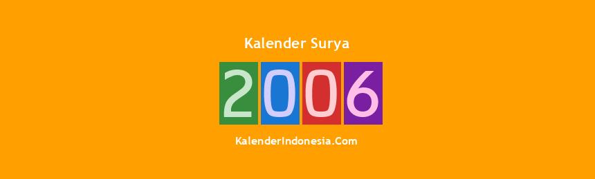 Banner Surya 2006