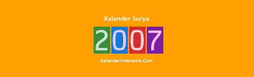 Banner Surya 2007
