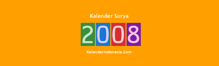 Banner Surya 2008