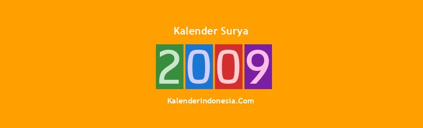 Banner Surya 2009