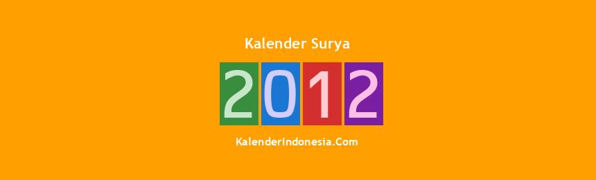 Banner Surya 2012