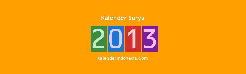 Banner Surya 2013