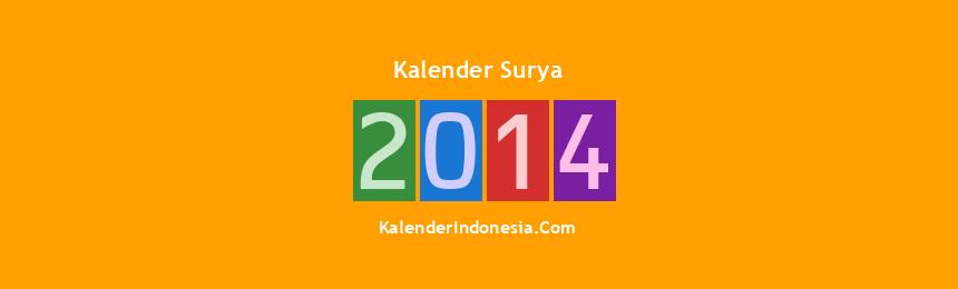 Banner Surya 2014