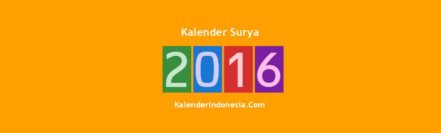 Banner Surya 2016