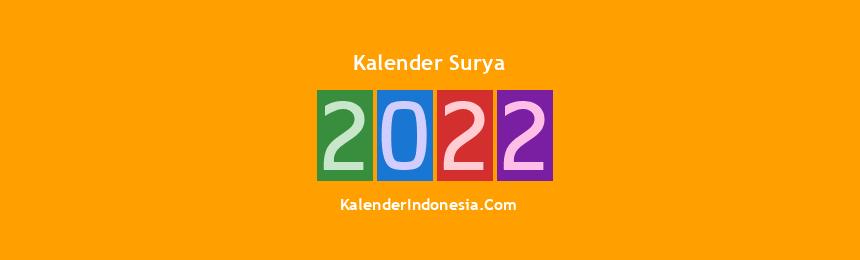 Banner Surya 2022