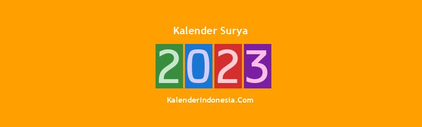 Banner Surya 2023
