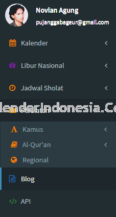 Fitur KalenderIndonesia.Com
