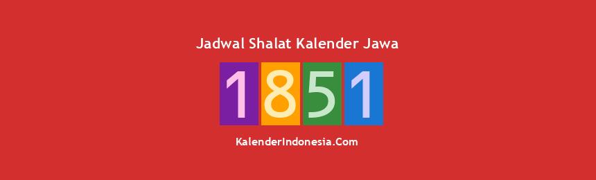 Banner 1851