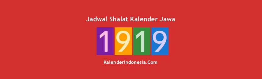 Banner 1919